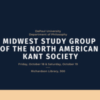 Midwest Study Group of the North American Kant Society