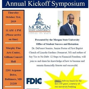 Annual Financial Literacy Kickoff Symposium