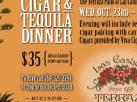 Cigar & Tequila Dinner