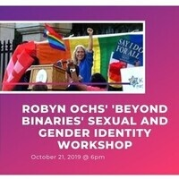 Robyn Ochs' 'Beyond Binaries' sexual and gender identity workshop