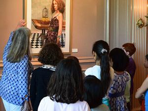 Art Talk & Tour for Kids: Bilingual, in English & Spanish