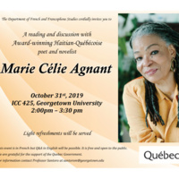 Reading with Marie Célie Agnant