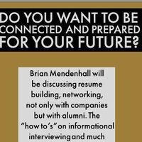 Do You Want To Be Connected and Prepared For Your Future?
