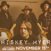 Whiskey Myers with special guest Rob Leines