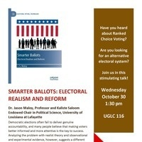 "Presentation: ""SMARTER BALLOTS: ELECTORAL REALISM AND REFORM"""