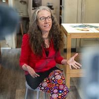 Artist Lecture: Judith Schaechter's Stained-Glass Art