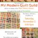 Art Reception: MV Modern Quilt Guild