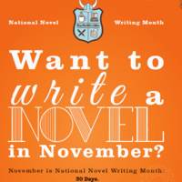 Novel Writing Month write-in at the library