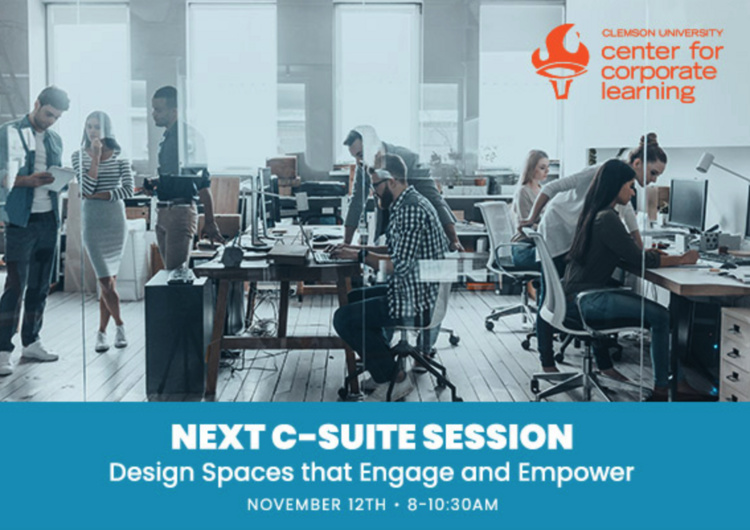 C-Suite Series:  Design Spaces that Engage and Empower