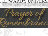 Prayer of Remembrance for Our St. Edward's Departed Ones