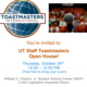 UT Staff Toastmasters - Open House Event - This Thursday at 12:00pm!