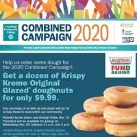 Combined Campaign: Krispy Kreme Dougnuts Fundraiser