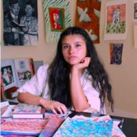 RAW 2019 Exhibition: Laura Camila Medina - Un tema en technicolor para hacer algo útil del amor