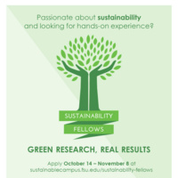 Sustainability Fellows Info Session