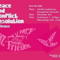 Peace and Conflict Resolution Conference