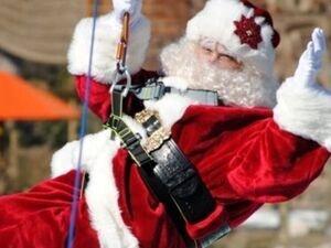 Santa at Treetop Quest