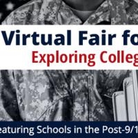 Admissions Virtual Fair for Veterans Exploring College & Grad School