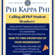 How To Take Advantage of Your Phi Kappa Phi Membership