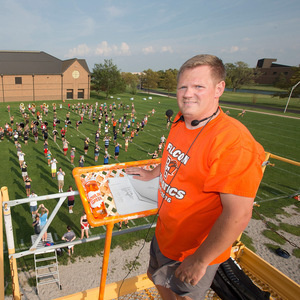 62nd Annual High School Honor Band Clinic: Master Class: Michael King, Marching Band