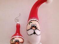 Santa Gourd Workshop