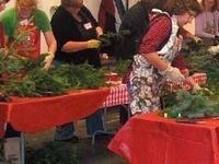 Evergreen Wreath Making
