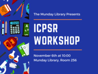 ICPSR Workshop