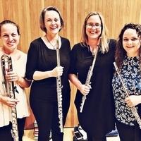 Faculty & Guest Artists:  Ceres Flute Quartet