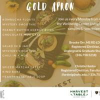 Gold Apron: Spiced Matcha Latte