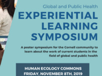 Global and Public Health Experiential Learning Symposium