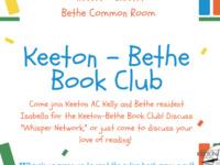 Keeton-Bethe Book Club