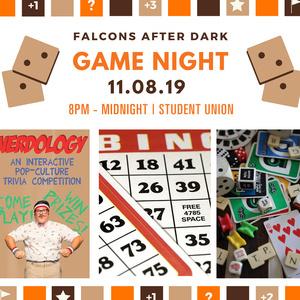 Game Night at Falcons After Dark