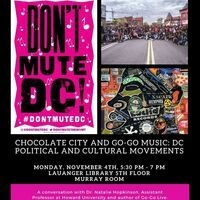 Chocolate City and Go-Go Music: DC Political and Cultural Movements