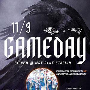 Ravens Vs Patriots Presented By: Morgan State University