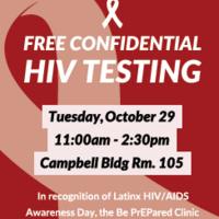 LatinX AIDS  Awareness Day