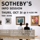 Sotheby's Institute of Art, London: Talk & Info Session