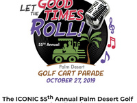 55th Annual Palm Desert Golf Cart Parade