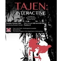 Tajen Interactive: A Visual Installation by Dr. Rob Lemelson