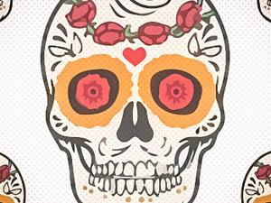 Dia de los Muertos Sugar Skull Sip and Paint