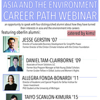 LIASE Asia and the Environment Career Paths Webinar