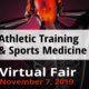Athletic Training & Sports Medicine Virtual Fair