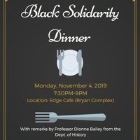 Black Solidarity Day Dinner - ...