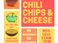 Lambda Sigma Pi's 27th Annual Chili, Chips, & Cheese