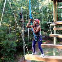 High Ropes Course and Zipline