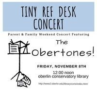 Tiny Ref Desk Concert with The Obertones