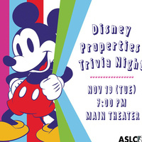 Disney Properties Trivia Night