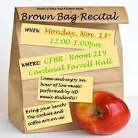 Brown Bag Recital
