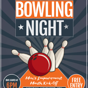 Men's Empowerment Month: Bowling Night