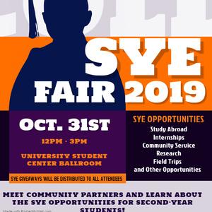 SYE Opportunities Fair