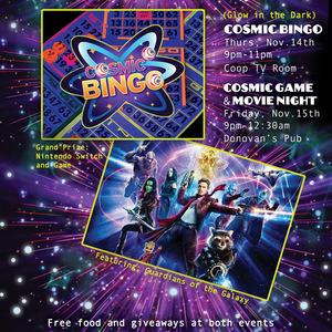 'Gate Night's Cosmic Game & Movie Night
