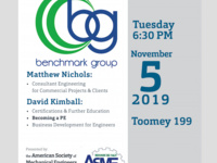 ASME Guest Speaker: Benchmark Group
